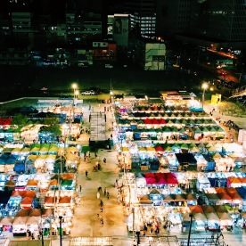Night Market from above!