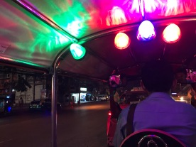 First Tuk Tuk ride!